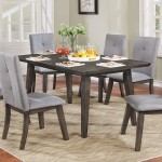 Ashland 5Pc Dining Table Set by Worldwide Home Furnishings