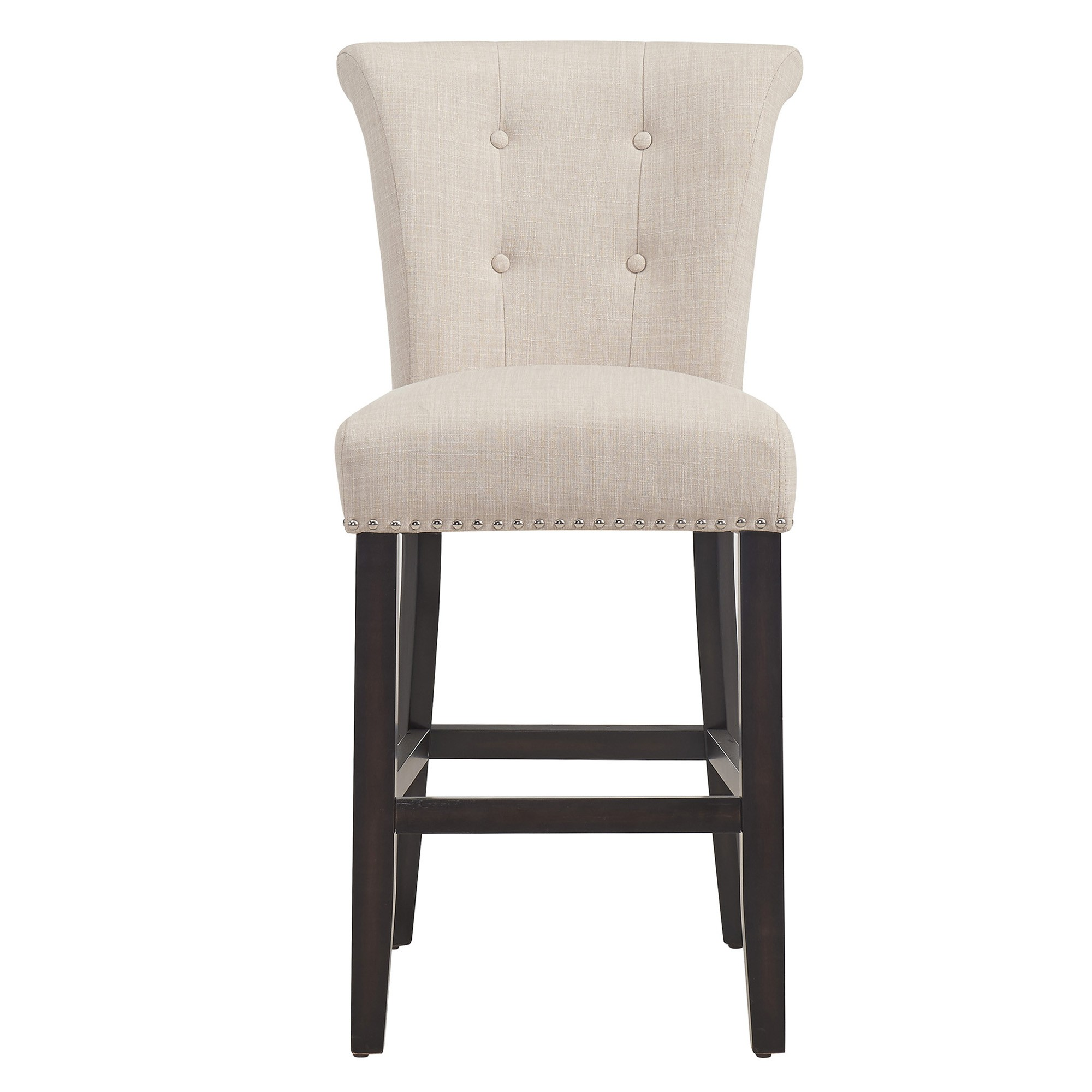 Selma 26 Quot Counter Stool In Coffee Beige