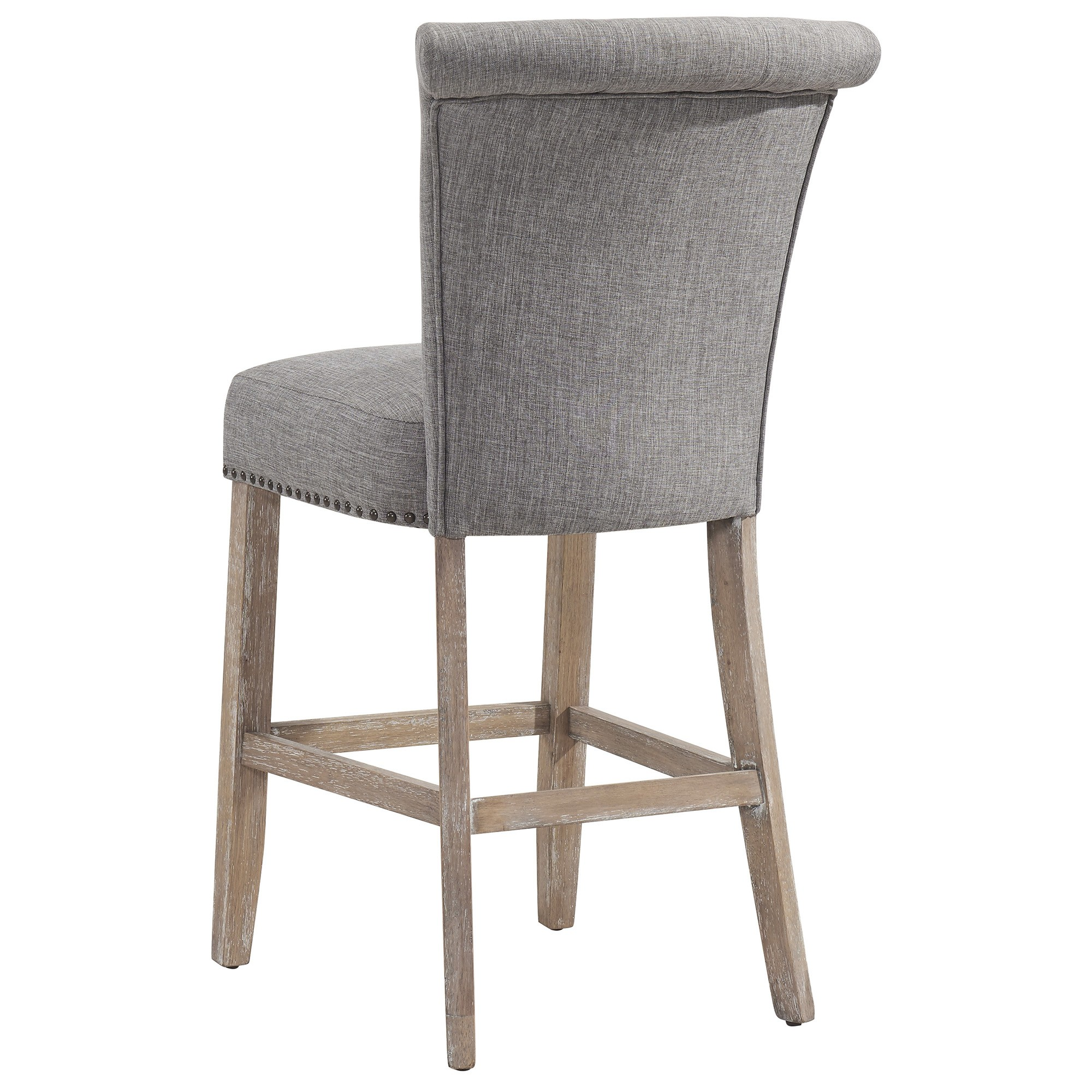 Selma 26 Quot Counter Stool In Vintage Oak Grey