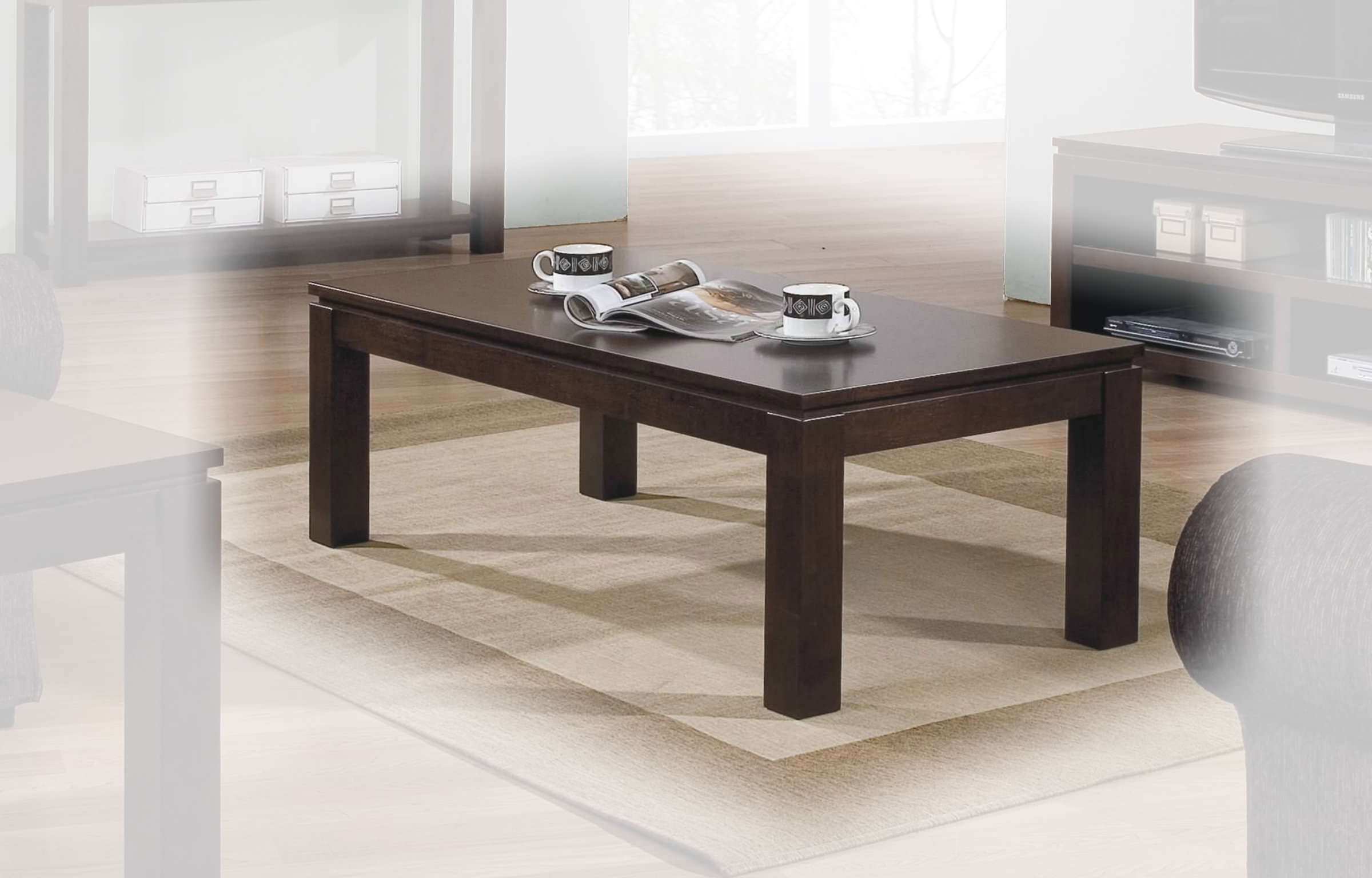 Alexis Coffee Table In Espresso By Winners Only