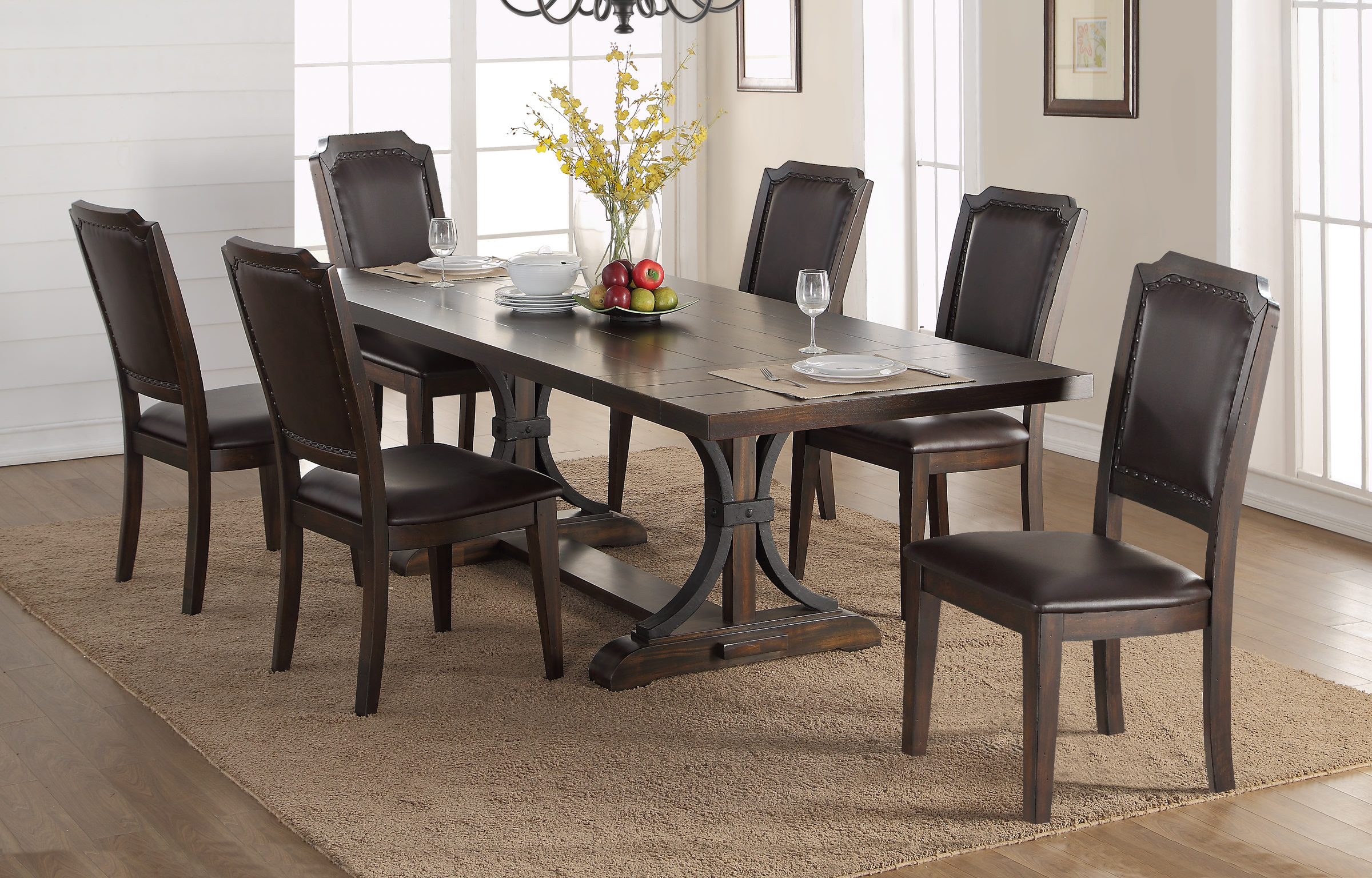 Marlinton 102 Table 6 Dining Chairs By Winners Only
