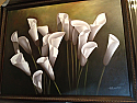 OIL PAINTING WITH FRAME - LILIES