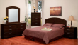 375 SERIES - MALAGA 5 PC BEDROOM SET IN CAPPUCCINO