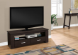 "I 2600 - TV STAND - 48""L / CAPPUCCINO WITH 2 STORAGE DRAWERS"