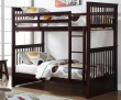 SYDNEY - TWIN/ TWIN BUNK BED FRAME IN ESPRESSO