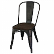 MODUS SIDE CHAIR IN GUNMETAL