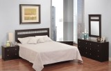 121 SERIES - 5PC QUEEN BEDROOM SUITE IN DARK SADDLE BIRCH