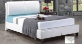 IF-163W Pillow-Back Bed in White