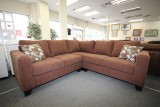 MODERN SECTIONAL - BROWN