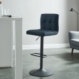 Sorb Gas Lift Stool in Blue and Grey by Worldwide Homefurnishings