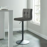 Sorb Gas Lift Stool in Grey by Worldwide Homefurnishings
