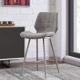 "Cooper 26"" Counter Stool in Beige Blend by Worldwide Homefurnishings Inc"