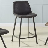 "Buren 26"" Counter Stool in Vintage Grey"