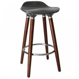 "Trex II 26"" Stool in Grey by Worldwide Homefurnishings Inc"