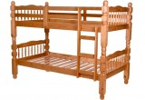 T-2601 - Twin / Twin Bunk Bed in Honey Finish by Titus Furniture