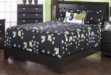 265 Series - King Platform Bed Frame in Espresso