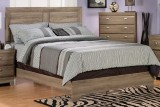 268 Series - King Panel Bed Frame