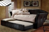 IF - 315B Single Day Bed w/ Trundle - Black