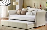 IF - 315W Single Day Bed w/ Trundle - White