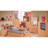 3275 Series - George Maple Twin Bookcase Headboard Only