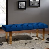 Angelica Double Bench in Blue
