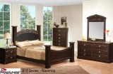 517 SERIES - RAVENNA BEDROOM SUITE WITH MARBLE LAMINATE TOP