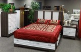 559 Series - 5PC Storage Bedroom Suite in Two Tone