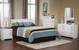 BLANC 6PC BEDROOM SUITE IN WHITE