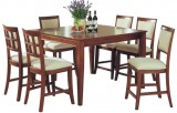 "Americana 54"" Tall Leg Table with 6 Pub Chairs by Winners Only"