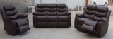 Brandon - 3 Pc Recliner Set - Sofa, Loveseat & Chair in Brown
