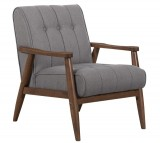 Durango Accent Chair In Grey