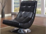 ELECTRA ACCENT CHAIR - BLACK