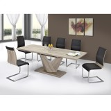 ECLIPSE/VENETA-7PC DINING SET IN WASHED OAK