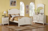 Farmhouse Bay Full Bed in Off White by Winners Only