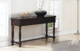 "HICKORY 53"" SOFA TABLE IN ESPRESSO FINISH BY WINNERS ONLY"