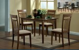 I 1720 WALNUT 5PC DINING SET