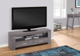 "I 2603 - TV STAND - 48""L / GREY WITH 2 STORAGE DRAWERS"