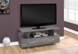 "I 2608 - TV STAND - 48""L / GREY WITH 2 STORAGE DRAWERS BY MONARCH SPECIALTIES INC"