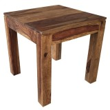 IDRIS ACCENT TABLE IN DARK SHEESHAM