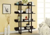 I 2549 - CAPPUCCINO 71″H OPEN CONCEPT DISPLAY ETAGERE
