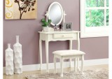 I 3412 - VANITY SET – 2PCS SET / ANTIQUE WHITE