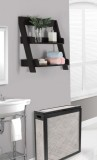 I 3436 - CAPPUCCINO 24″H WALL MOUNT SHELF