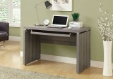 "I 7303 - 48""L COMPUTER DESK - DARK TAUPE RECLAIMED-LOOK"