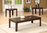 I 7842P - CAPPUCCINO 3PCS COFFEE TABLE SET