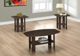 I 7924P - TABLE SET – 3PCS SET / CAPPUCCINO