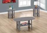 I 7925P - TABLE SET – 3PCS SET / GREY
