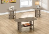 I 7927P - TABLE SET – 3PCS SET / DARK TAUPE