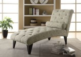 I 8034 - CHAISE LOUNGER – VINTAGE FRENCH FABRIC