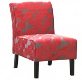 LANAI ACCENT CHAIR - RED FABRIC