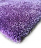 SHAGGY VISCOSE DESIGN LAVENDER